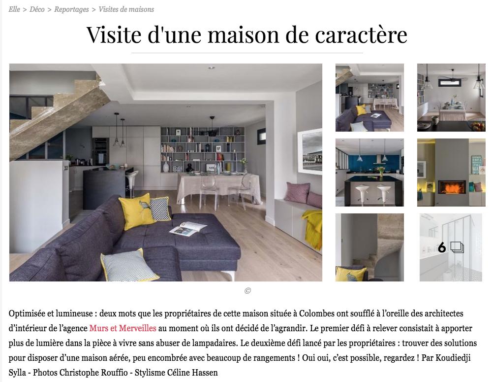 rénovation - gris - bois - lampe vertigo - style atelier -