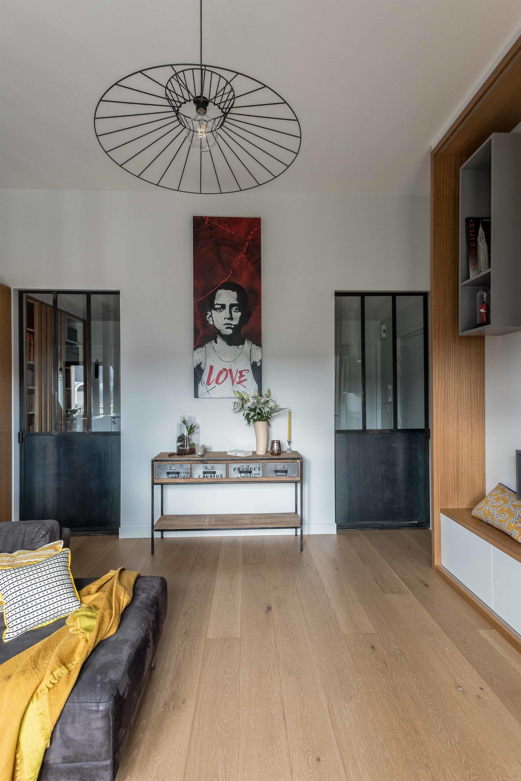 doubles portes a galandage verrière esprit atelier  murs et merveilles