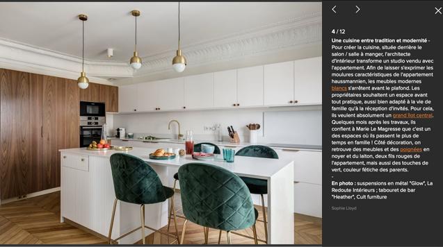 cuisine du projet Wagram reportage cote maison murs et merveilles